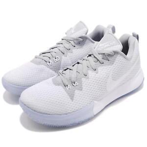 e829c9bf7e98c Nike Zoom Live II EP 2 White Wolf Grey Men Basketball Sneakers ...