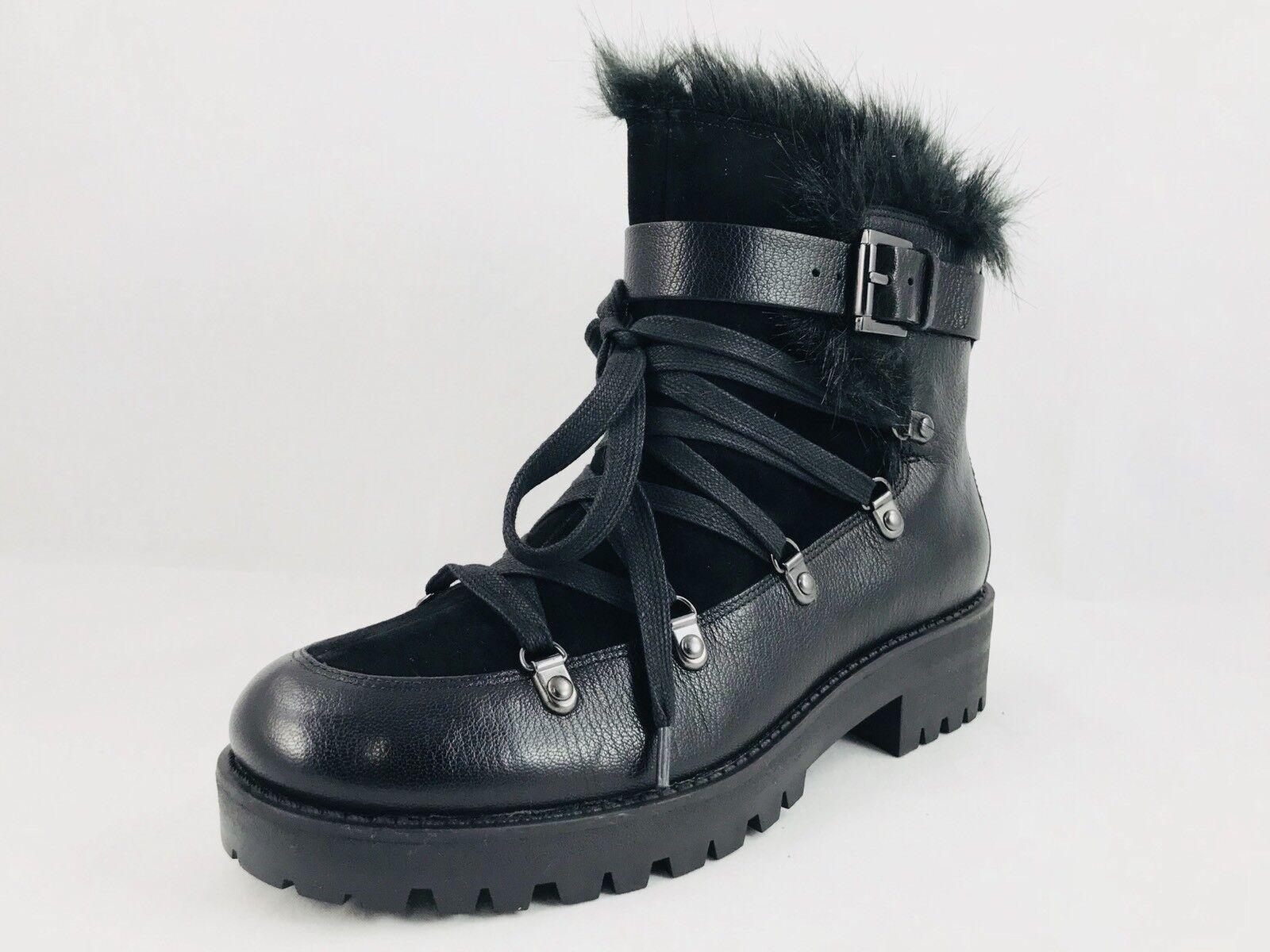 Nine West Orynne Leather Ankle Boot Black Size 6.5 NIB