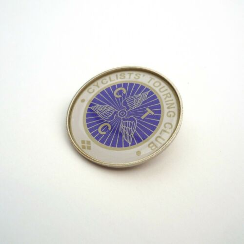 Repro Vintage Style Bag Badge Lapel /'CTC/' Cyclists/' Touring Pin Cap