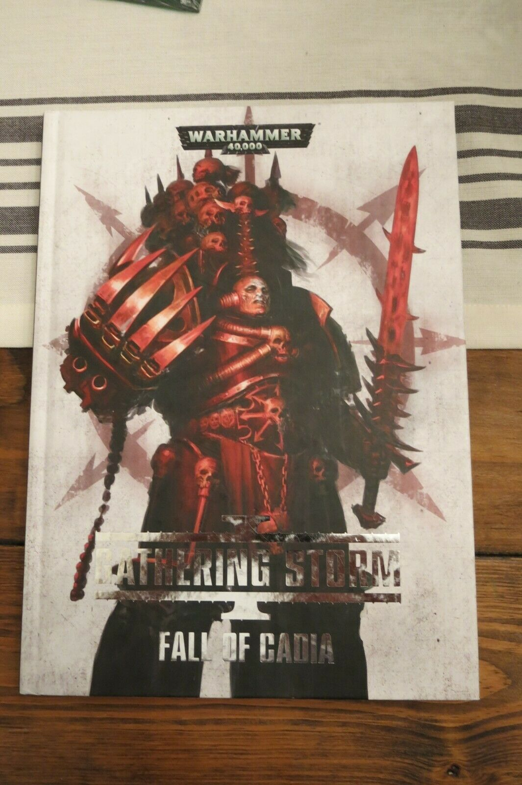 WARHAMMER GATHERING STORM I FALL OF CADIA HARDCOVER VERY RARE GAMES WORKSHOP OOP