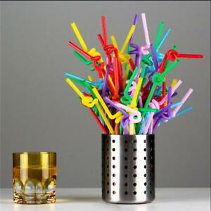 100pcs-Flexible-Straws-Disposable-Extra-Long-Bendable-Plastic-Drinking-Straw-GG