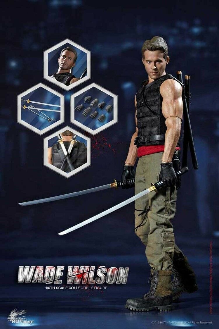 Hot Heart FD003 Wade Warrior Wilson 1 6 Figure