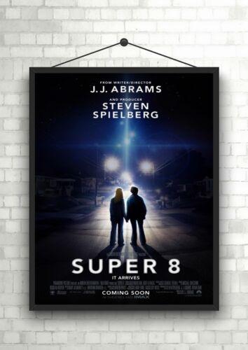 Super 8 Classic Large Movie Poster Art Print A0 A1 A2 A3 A4 Maxi