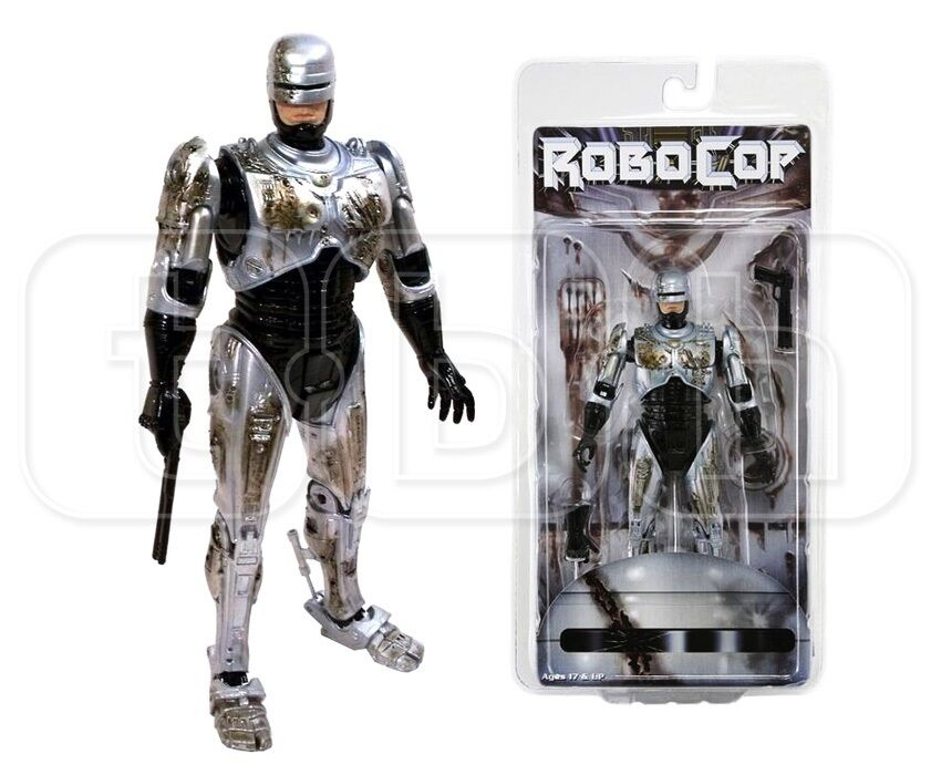 Neca Neca Neca - Battle Damaged Robocop - 7   Action Figure Figure - Nip d4ab89