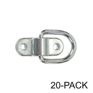 Capacity Tiedowns 10-Pack 12,240 lb Heavy Duty Tie Down D-Ring Anchors