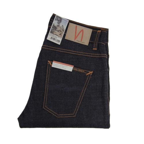 Dry Comfort Dark Nudie Jeans Neu Dunkelblau Dude Dan Baumwolle 112529