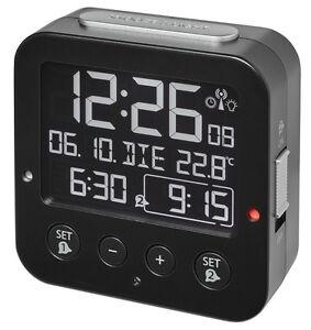 Radio-reveil-Bingo-Blackline-TFA-60-2531-01-affichage-negatif-2-alarme-eclairage