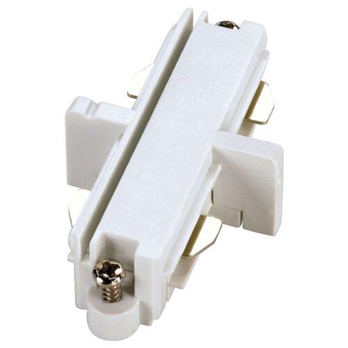 Längsverbinder für 1-Phasen HV-Stromschiene, weiß