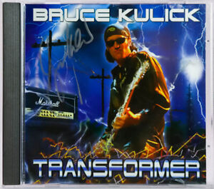 CD - BRUCE KULICK - TRANSFORMER - AUTOGRAPHED by BRUCE - USA 2003 -KISS -C629903