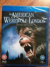 AN AMERICAN WEREWOLF IN LONDON ~ 1981 Horror Classic  | UK Blu-ray