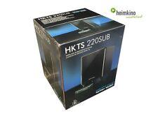 Harman Kardon HKTS 220SUB/230 Funk Subwoofer (Schwarz) 35 65 NEU Fachhandel