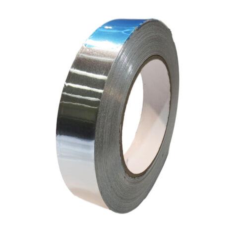 AF Heat Shield Resistant Aluminum Foil Tape HVAC T.R.U 1in wide x50 yds 2Mil