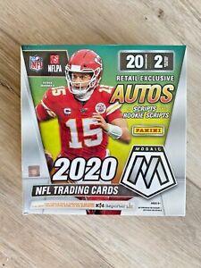 2020-PANINI-MOSAIC-FOOTBALL-SEALED-GREEN-MEGA-BOX-WALMART-40-CARDS-QTY-AVAILABLE