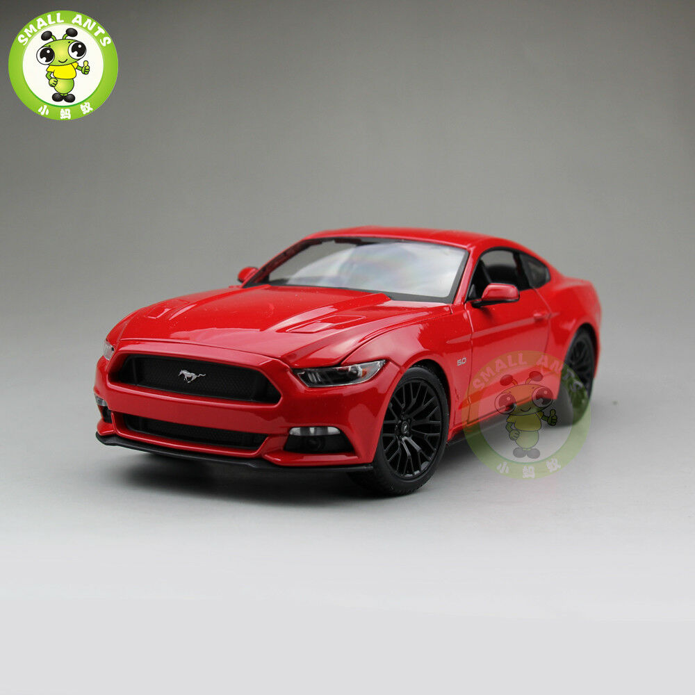 1 18 2015 Ford  Mustang GT 5.0 diecast voiture model for gifts maisto 31197 rouge  vente de sortie