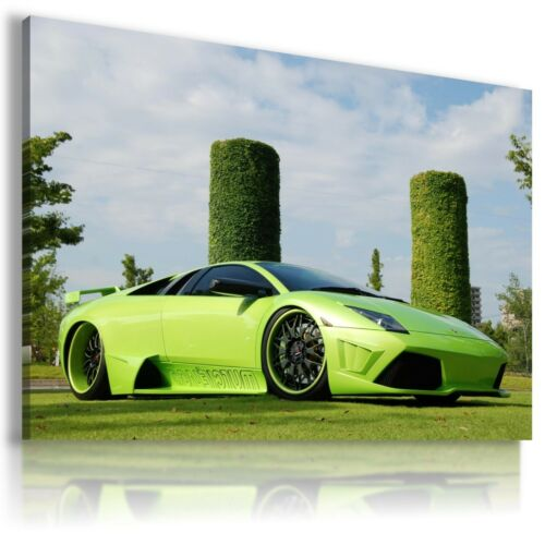 LAMBORGHINI GALLARDO WHITE Sports Car Wall Art Canvas Picture  AU753  MATAGA .