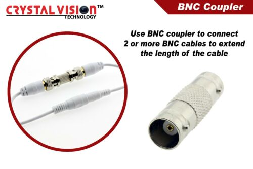 WHITE PREMIUM 300FT CCTV BNC CABLES FOR 8 CH SAMSUNG SYSTEMS SDS-P5101L