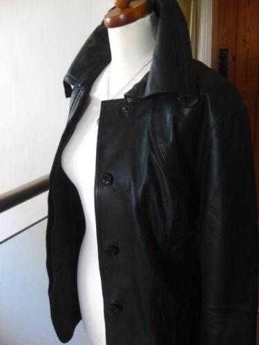 Ladies Real Black amp;s Military Leather Safari 10 Biker Autograph M 8 Uk Jacket 1wI1qrf