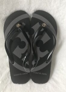 997c655cf12f Brand New Tory Burch Black Emory Rubber Flip Flop Sandals   CHOOSE ...