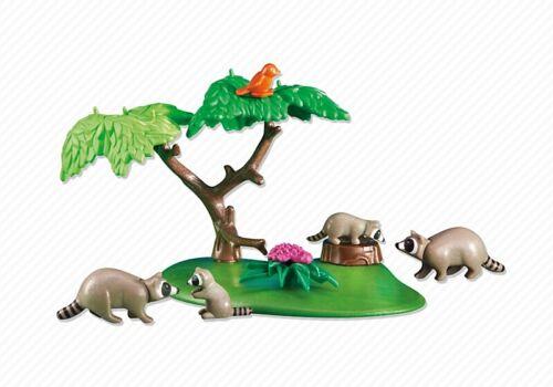 ¡New! Familia de Mapaches ¡Nuevo en Bolsa YRTS 6317 Playmobil