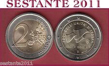 A2 ITALIA 2 EURO 2011 150 commemorativo UNITà D'ITALIA  UNC,  BU,  FDC BRILLANTE