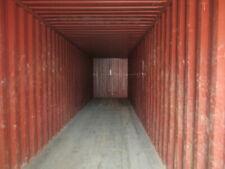 Used 40 Dry Van Steel Storage Container Shipping Cargo Conex Seabox Indianaploi