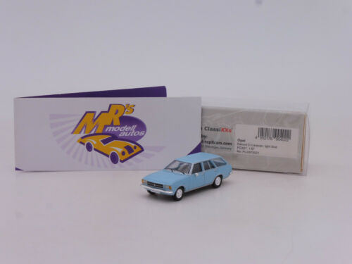 "Premium ClassiXXS 870021 # Opel Rekord D Kombi Baujahr 1971 /"" hellblau /"" 1:87"