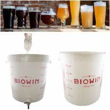 Young`s 25L Beer Wine Cider Fermenting Vessel Fermentation Bin Bucket WITH TAP