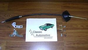 Shifter Cable kit 9pc Turbo TH 400 Camaro Chevelle El Camino TH400 shift