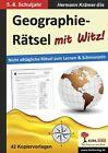 Geographie-Rätsel mit Witz! - 5.-8. Schuljahr von Hermann Krämer-Eis (2013, Taschenbuch)