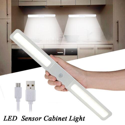 20 LED Wireless USB Rechargable PIR Kitchen Closet Under Cabinet LED Night Light
