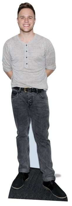 Olly Murs Pop Singer Cardboard Cutout Figure Stand Up -Invite him to your Party