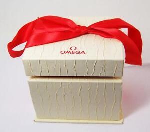 Genuine-Ladies-OMEGA-WATCH-BOX-CASE-for-Seamaster-De-Ville-Models