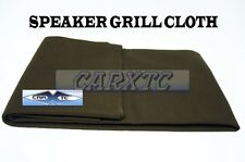 Speaker Grill Cloth - BROWN (Professional Grade) 66x36