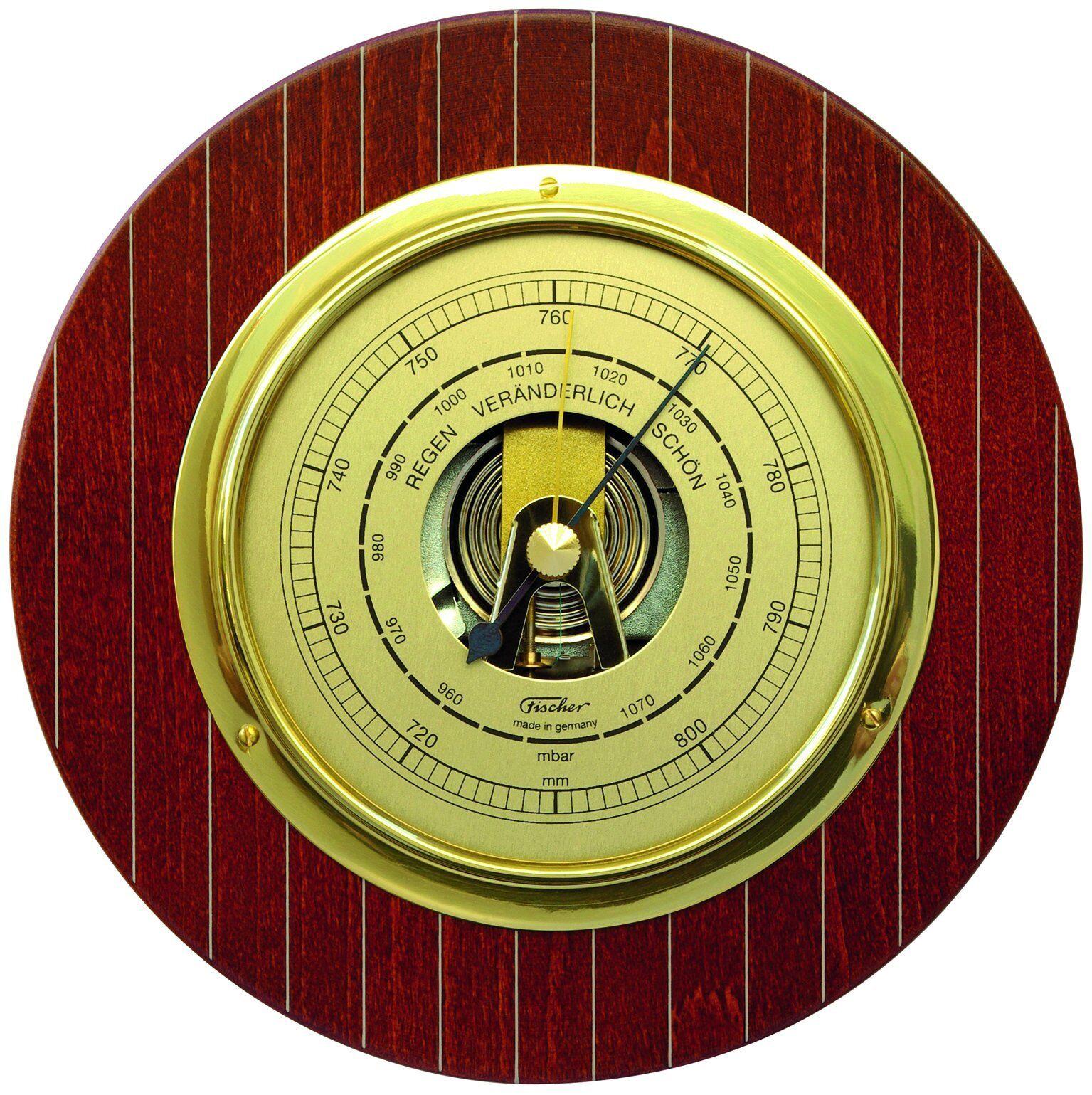Fischer barómetro para interior, caoba, 1310-22-UKPantalonesUkTalla10