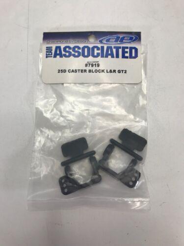ASC7919 Team Associated 7919  25° Caster Block Set