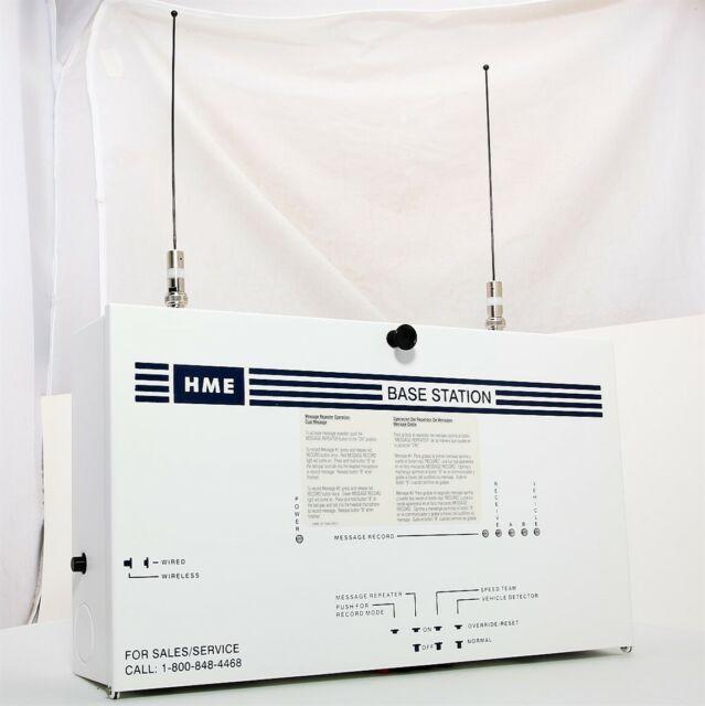 HME System 400 Wireless Drive Thru SYS400 Clearsound Plus Intercom Base Station