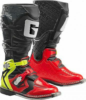 TRAIL /& OFF ROAD BOOTS ENDURO GAERNE REACT RED//YELLOW//BLACK MX BOOTS