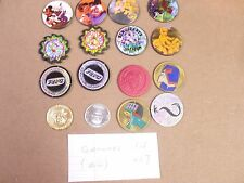 POGS SLAMMERS LOT #29 LOT OF (16) MISC. TYPES AWESOME