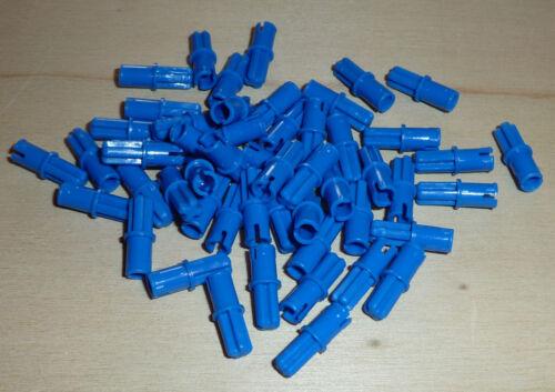 Nr.1115 Lego 43093 Technik 50 Pin Verbinder eine Seite Kreuz in blau