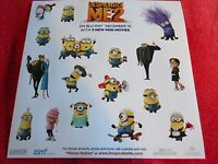 18 Despicable Me 2 Stickers Minions Characters Artwork Stickers