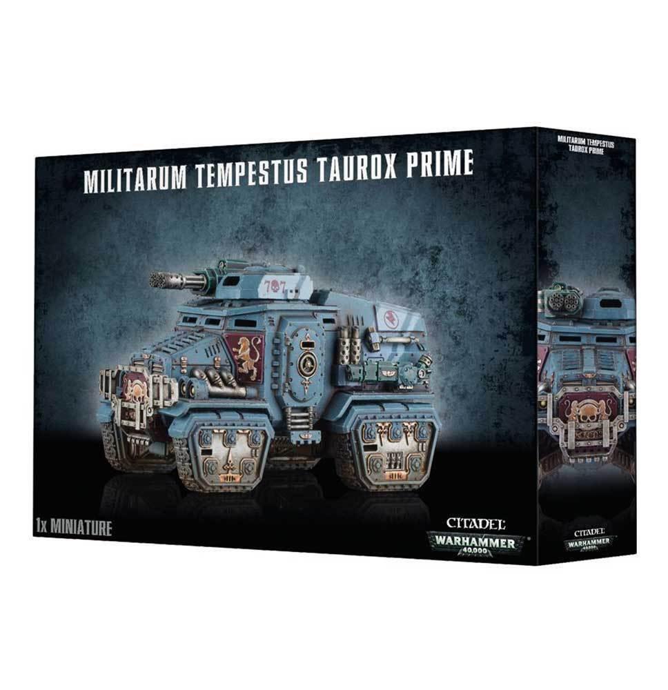 Warhammer 40k - militarum tempestus taurox prime - brand new in box - 9974