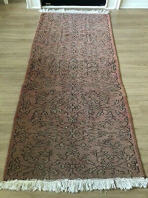 """Vintage Oushak Wool Turkish Handmade Runner Rug 7'x 3'3"""" Free Shipping!! With The Most Up-To-Date Equipment And Techniques"""