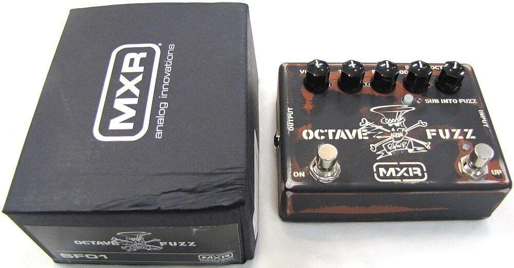 MXR SF01 Slash Octave Fuzz Guitar Effects Pedal USED