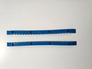 VINTAGE-BLUE-SKATEBOARD-RAILS-OLD-SCHOOL-NOS-VTG-AZULES