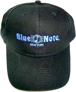 7801d11bc06 BLUE NOTE NEW YORK HAT Black Adjustable Strap Cap NYC Jazz Club  NEW ...