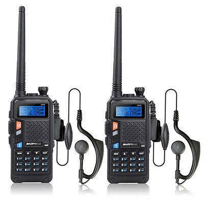 2015 Exclusive 2PCS BAOFENG UV-5X UHF+VHF Dual Band/Dual Watch Two-Way Radio FM