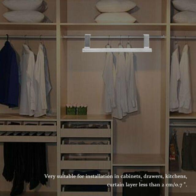 New Bathroom Door Kitchen Towel Over Holder Drawer Hook Storage Scarf  Hanger N