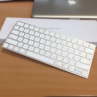 Apple Magic Keyboard Wireless Bluetooth W/ Built-in Rechargeable Battery