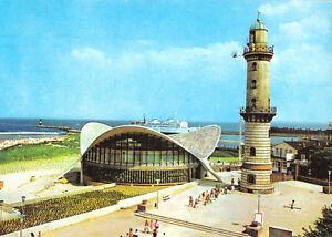 AK-Rostock-Warnemuende-Leuchtturm-und-Gaststaette-034-Teepott-034-1978