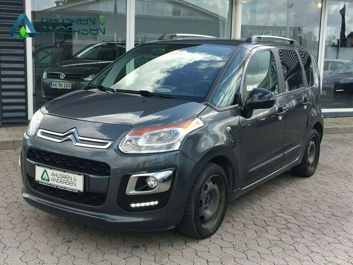 Citroën C3 Picasso 1,6 BlueHDi 100 Attraction 5d
